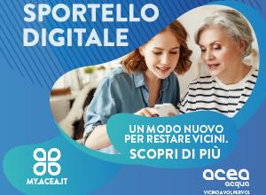 Sportello digitale ACEA – Nuovo servizio