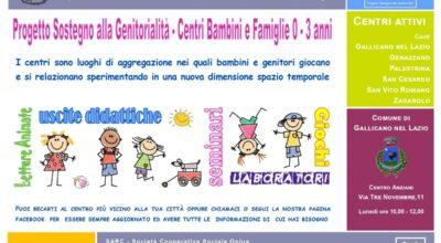 Riparte il Centro di sostegno alla genitorialità