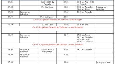 SERVIZIO NAVETTE CAPOLINEA BUS VIA POLI (PONTE DI LEGNO) – PIAZZALE CADUTI DI TUTTE LE GUERRE (SCUOLE ELEMENTARI)