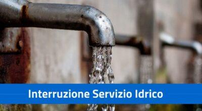 Interruzione servizio idrico per viale Diaz il giorno 20.10.2021